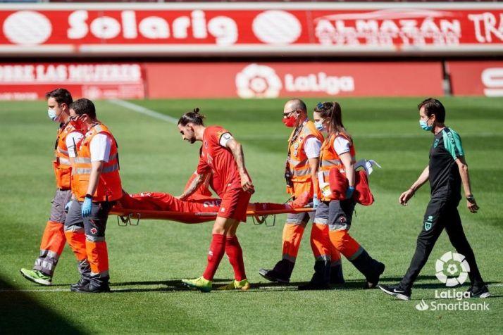 Foto 1 - Numancia: Las bajas se ceban una corta plantilla de cara a los últimos y decisivos 5 partidos