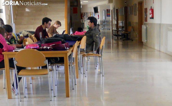 Interior de las dependencias del Campus Duques de Soria, adscrito a la UVa. /SN