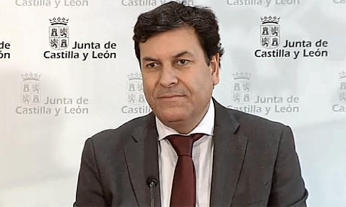 Carlos Fernández Carriedo, consejero de Economía y Hacienda de Castilla y León.