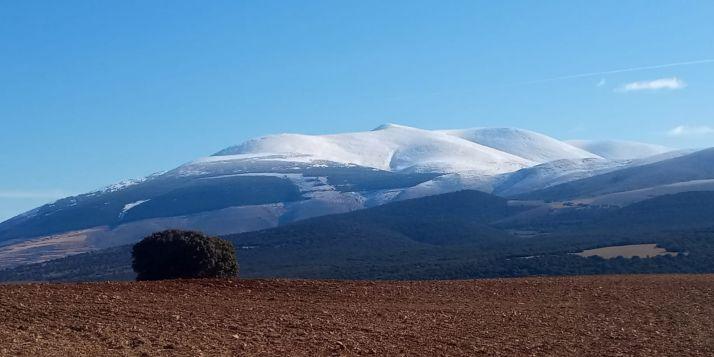 Moncayo visto desde Ágreda.