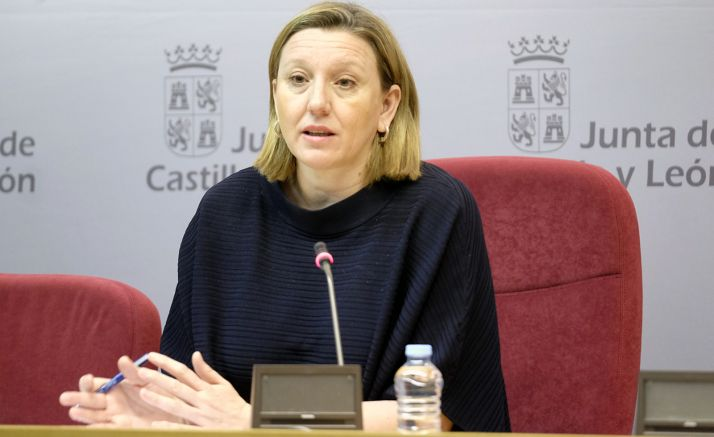 Isabel Blanco, consejera de Familia e Igualdad, este viernes en la presentacion. /Jta.