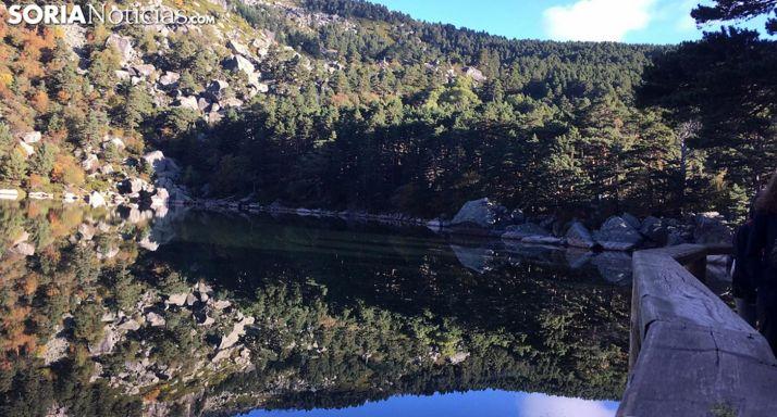 Foto 1 - El acceso a la Laguna Negra, regulado también este fin de semana