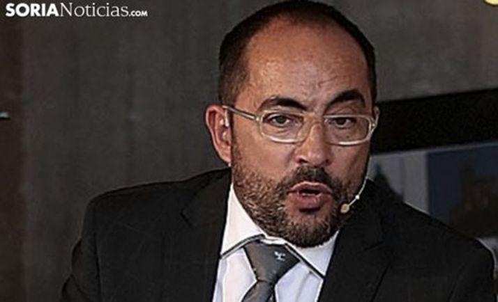 Luis Rey, portavoz del Ayuntamiento de Soria en el comité. /SN