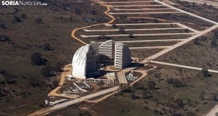 Imagen aérea del PEMA.