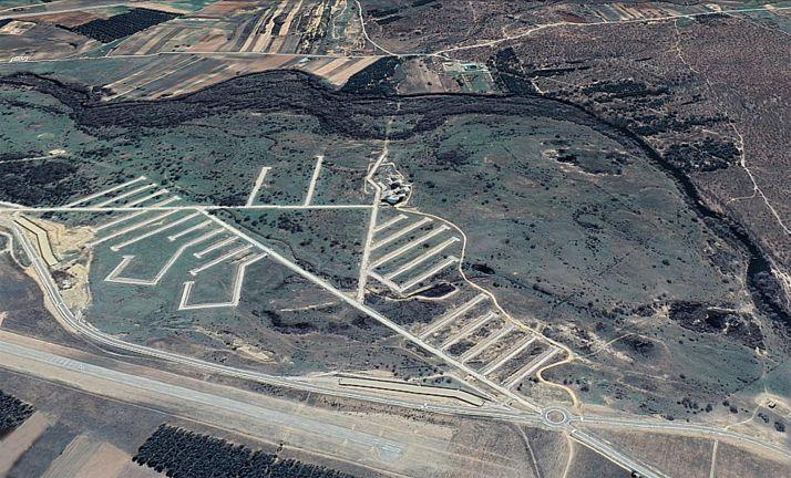 Una vista aérea del PEMA. /GE