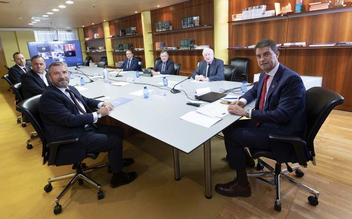 Una imagen de la reunión de este miércoles. /Jta.