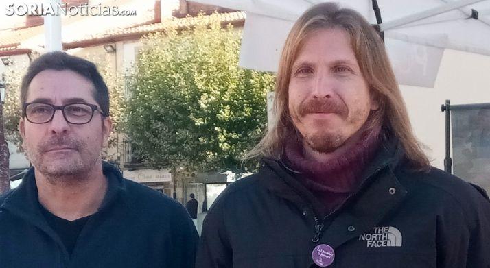 El Secretario de Podemos CyL, Pablo Fernández.