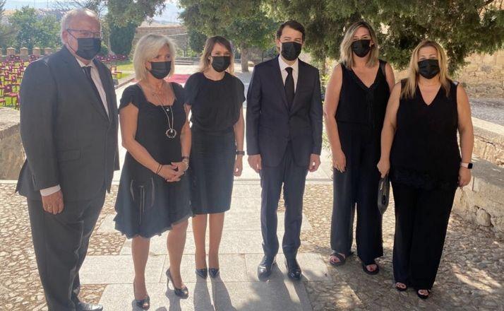 Foto 2 - Soria, presente en el homenaje a las víctimas del Covid-19