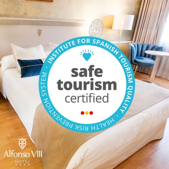 "Foto 1 - El Hotel Alfonso VIII obtiene el sello ""Safe Tourism Certified"""