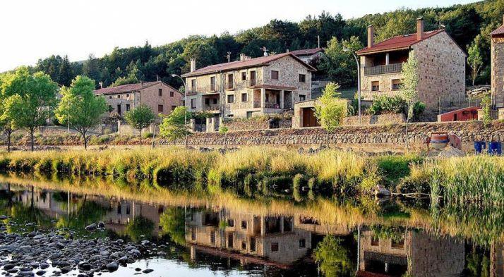 Imagen del pueblo de Salduero.