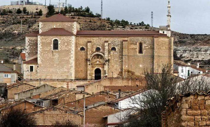 Iglesia de San Miguel, en Langa de Duero. /ALC