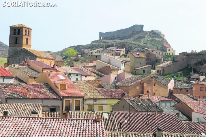 Vistas de San Esteban de Gormaz.