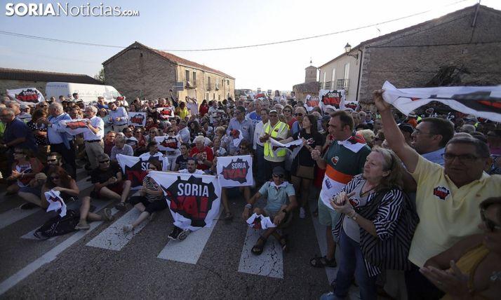 Una imagen de la concentración en Villaciervos en 2018. /SN