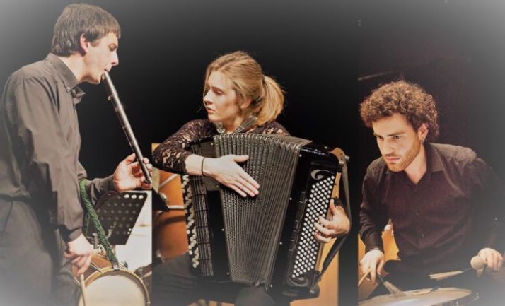 Imagen promocional del Trío Zukan.