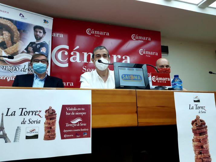 Samuel Moreno, Alberto Santamaría y Juan José Delgado.