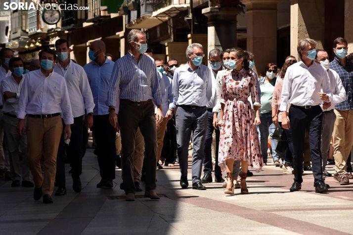 GALERÍA: Los Reyes completan la mañana en Soria