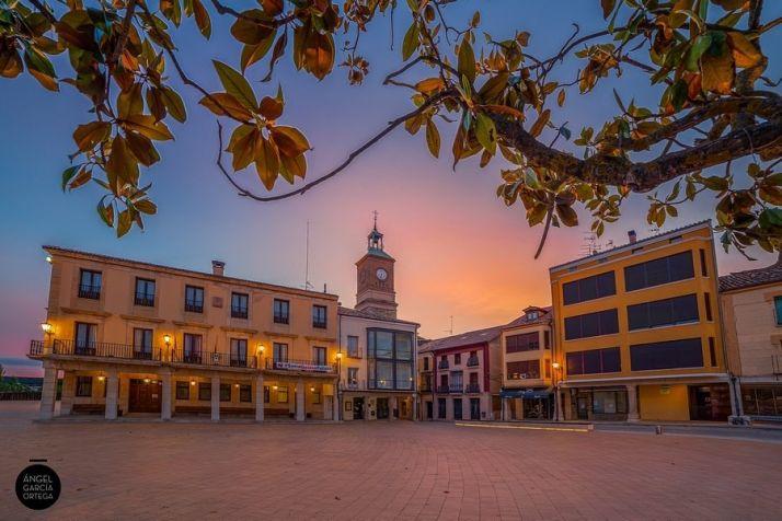 Plaza Mayor de Almazán. Ángel García Ortega