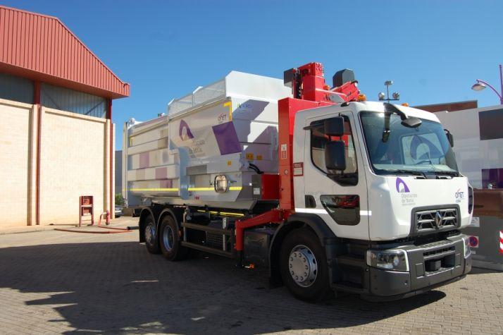 Camión de recogida de basura. /Diputación