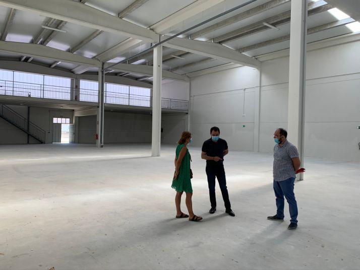 Visita a las nuevas naves nido del Ayuntamiento de Soria
