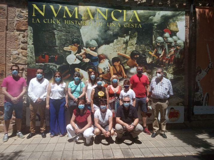 Los héroes del SAMUR visitan Numancia