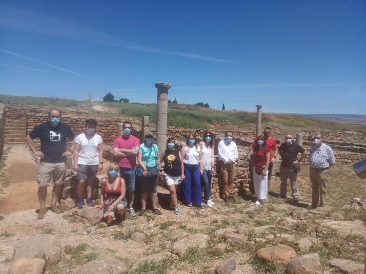 Foto 2 - Los héroes del SAMUR visitan Numancia