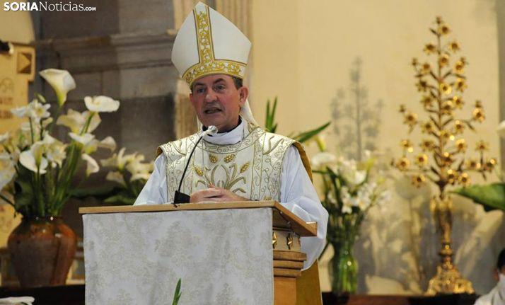 Abilio Martínez Varea, obispo de Osma-Soria. /SN