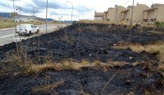 Una imagen del terreno que ha sido pasto de las llamas. /SN