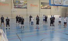 Los jugadores en su primer entrenamiento de conjunto. /SN