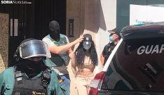 Una persona detenida en la operación. /SN