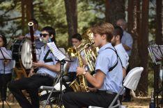 Foto 3 - GALERÍA: La banda de Duruelo de la Sierra 'da la nota' en Castroviejo