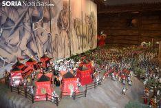 Foto 3 - El Aula Arqueológica de Garray inaugura la exposición de playmobil 'La batalla de las Navas de Tolosa' con 2.500 piezas