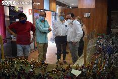 Foto 4 - El Aula Arqueológica de Garray inaugura la exposición de playmobil 'La batalla de las Navas de Tolosa' con 2.500 piezas