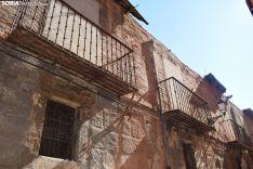 Así ha quedado el número 40 de la calle Zapatería de Soria