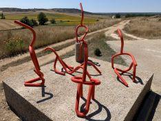 El museo al aire libre de Almarail tiene una nueva escultura: 'Vida'