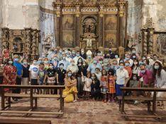 El Obispo visita Fuentes de Ágreda y bendice las obras de rehabilitación de la parroquia