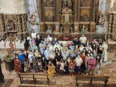 Foto 3 - El Obispo visita Fuentes de Ágreda y bendice las obras de rehabilitación de la parroquia