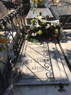 Homenaje a Leonor y Machado, en el 108 aniversario de la muerte de Leonor. /Ayto. Soria