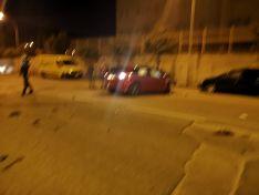 Foto 4 - Un conductor borracho se lleva varios vehículos aparcados en Soria