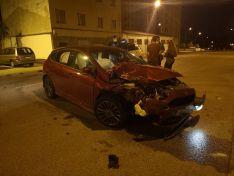 Un conductor borracho se lleva varios vehículos aparcados en Soria