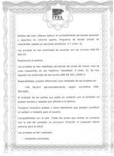 Una de las páginas del informe.