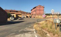 Una imagen de la entrada a Noviales.