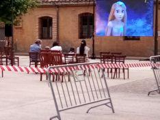 Proyección de 'Enredados' en Lodares de Osma.