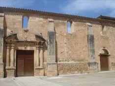 Fachada del convento de La Merced.