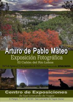 Arturo de Pablo Mateo expone sus fotografías sobre el Cañón del Río Lobos