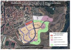 Proyecto urbanístico en el Cerro de los Moros. /Asden