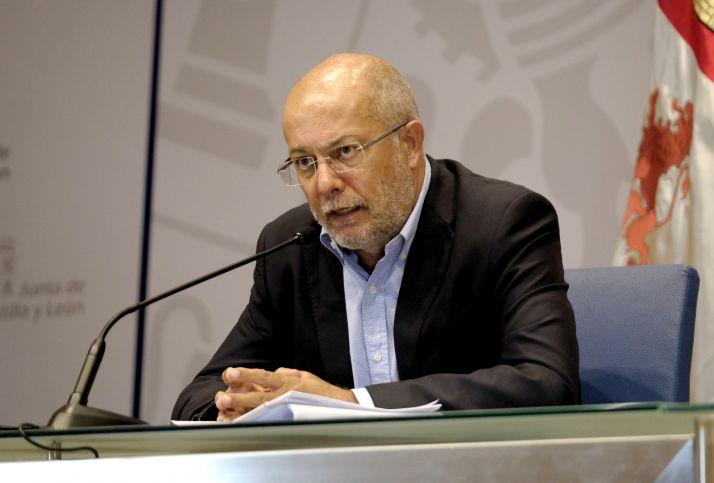 Paco Igea, consejero de trasparencia