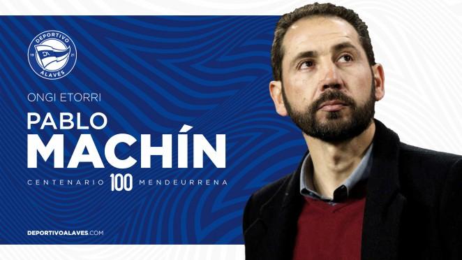 Foto 1 - Oficial: Pablo Machín, nuevo entrenador del Deportivo Alavés