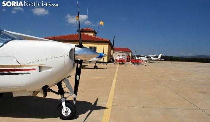 Aeródromo de Garray en una imagen de archivo.