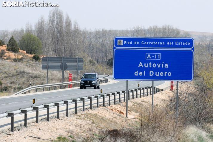 Foto 1 - Se aplaza la marcha lenta organizada para reivindicar la construcción de la Autovía del Duero