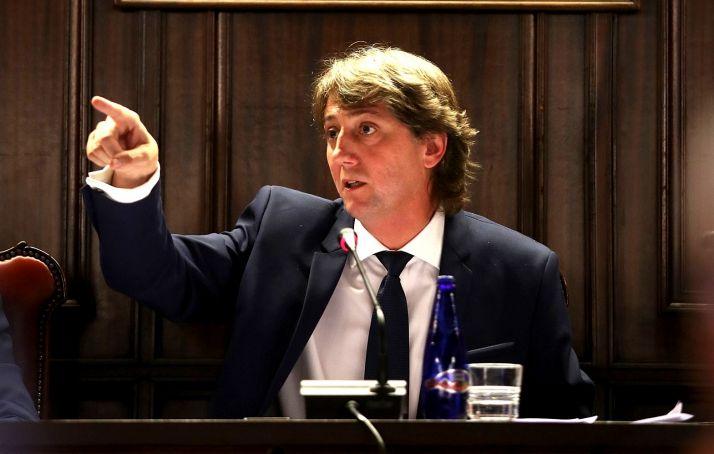Martínez, durante una intervención plenaria.